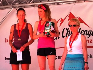 Alpen Challenge Gesamtwertung Damen