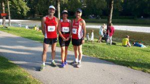 Von links: Erwin Geiger, Georgia Lunz, Franz Starzer