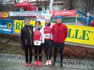 Von Links: Georg Stifter, Marion Krautloher, Marion Krinner, Erwin Baumgartner